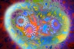 Upside Down Jellyfish - Orange