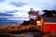 Sunset Bathing Box, Tootgarook, Australia