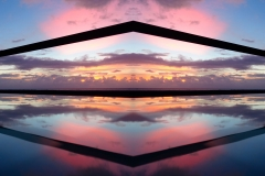 Pink Kiss Sunrise – Series: Heavenly Reflections